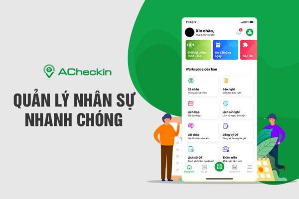 App ACheckin: Giải pháp quản lý tài nguyên doanh nghiệp hiệu quả 2