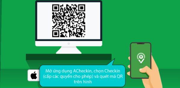 App chấm công iOS bằng mã QR code hiện đại nhất hiện nay 2
