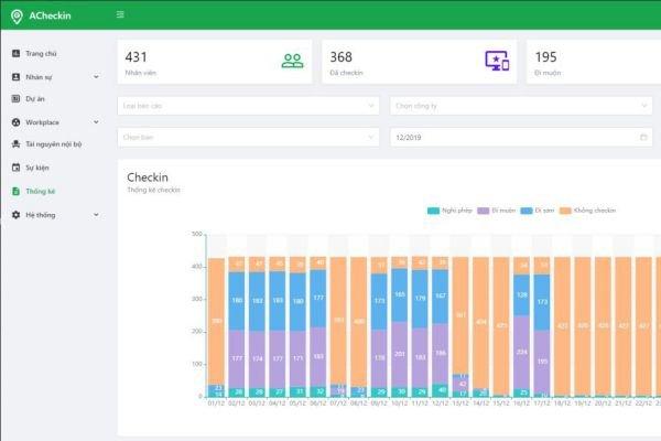 Hướng dẫn cách tải app chấm công ACheckin cho iOS và Android 2