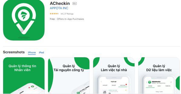 ACheckin - Giải pháp quản lý nhân sự từ xa cho Doanh nghiệp 3