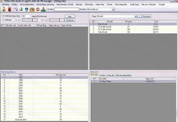 6 phần mềm ứng dụng quản lý nhân viên ngân hàng miễn phí 4