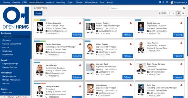 6 phần mềm ứng dụng quản lý nhân viên ngân hàng miễn phí 2