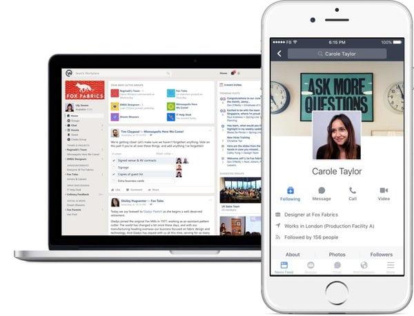 """Tìm hiểu app quản lý công việc group trên Facebook """"Workplace""""2"""
