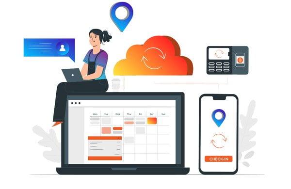 4 tính năng nổi bật của phần mềm chấm công online miễn phí năm 2021 2
